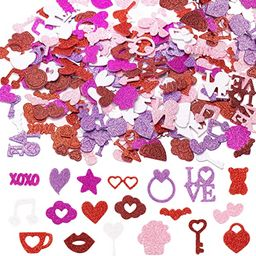WATINC 500pcs Valentine's Day Foam Stickers for Kids and Adults, Red Pink White Colorful Glitte... | Amazon (CA)