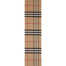 Giant Icon Check Cashmere Scarf | Nordstrom