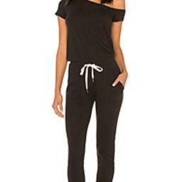 n:philanthropy Britton Jumpsuit in Black from Revolve.com | Revolve Clothing (Global)