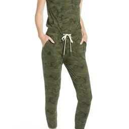 n:PHILANTHROPY Britton One-Shoulder Crop Jumpsuit | Nordstrom | Nordstrom