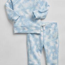 Baby Tie-Dye Sweatshirt Set   Gap Factory