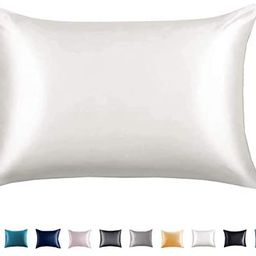 Adubor 100% Mulberry Silk Pillowcase for Hair and Skin with Hidden Zipper, Both Side 23 Momme Sil... | Amazon (US)