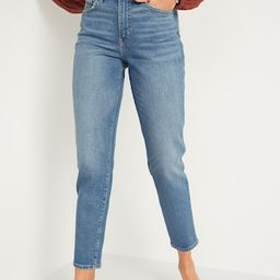 High-Waisted O.G. Straight Ankle Jeans for Women | Old Navy (US)