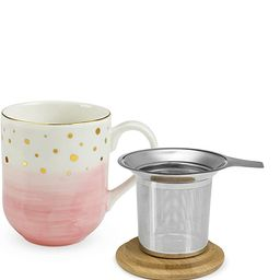 Pinky Up 7985 Casey Pink Ceramic Tea Mug & Infuser by Pinky Up, Multi Colored   Amazon (CA)