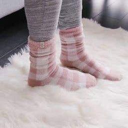UGG Vanna Fleece Lined Socks | Linen Chest