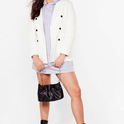 All Night Longline Plus Oversized Hoodie Dress | NastyGal (US & CA)