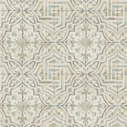 Chesapeake Sonoma Olive Spanish Tile Paper Strippable Roll (Covers 56.4 sq. ft.)-3117-12335 - The... | The Home Depot