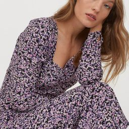 Puff-sleeved Dress | H&M (US)