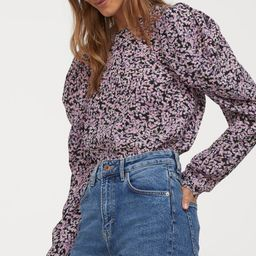 Puff-sleeved Blouse | H&M (US)
