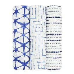 aden + anais Silky Soft Swaddle Blanket,100% Bamboo Viscose Muslin Blankets for Girls & Boys, Bab... | Amazon (US)