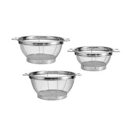 Farberware Stainless Steel Sieves (Set of 3)-5181490 - The Home Depot   The Home Depot