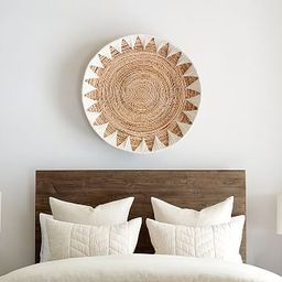 Sunny Handwoven Basket Wall Art   Pottery Barn (US)