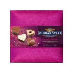 Ghirardelli Valentine's Day Sweet Hearts Premium Chocolate Assortment Box - 4.4oz | Target
