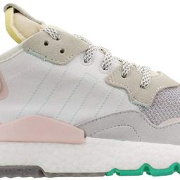 adidas Womens Nite Jogger Sneakers Shoes Casual - White - Size 10 B | Amazon (US)