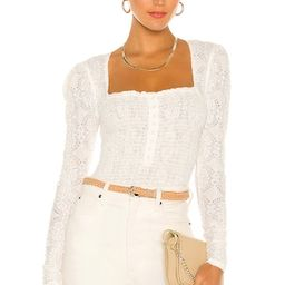 Free People Confection Top in Evening Cream from Revolve.com | Revolve Clothing (Global)