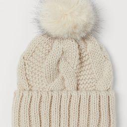 H & M - Knit Hat - Beige | H&M (US)