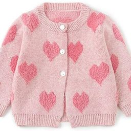 Simplee kids Baby Sweater Cable-Knit Baby Cardigan Coat for Autumn Fall 3M-3T   Amazon (US)