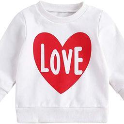 Infant Toddler Baby Girl Pullover Sweatshirt Mamas&Daddys Girl Long Sleeve Shirts Tops Spring Fal...   Amazon (US)