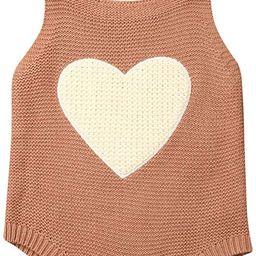 Gueuusu Newborn Baby Boy Girl Knit Pompom Romper Sleeveless Sweater Bodysuit Jumpsuit One Piece O...   Amazon (US)