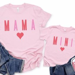 Valentines Mommy and Me Matching Outfits, Valentines Day Mommy and me Shirts, Matching Mommy and ...   Etsy (US)