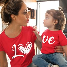 Mommy and me Valentine Shirts, Family Valentines Shirts, Matching Valentine Shirts, Mom Daughter ...   Etsy (US)