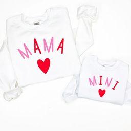 Mommy and me shirt, mama and mini shirt, mom and daughter matching shirt, mom and daughter shirt,...   Etsy (US)