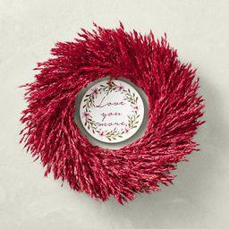 Love You More Wreath | Williams-Sonoma