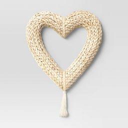 "12"" Artificial Woven Corn Husk Wreath - Opalhouse™ | Target"