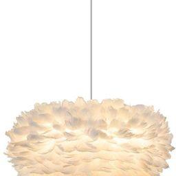 Modo Lighting Nordic Feather Ceiling Pendant Light Fixture Modern Contemporary Decor Chandelier 1...   Amazon (US)