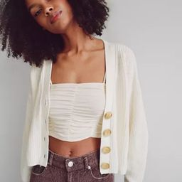 UO Turner Ribbed Button-Down Cardigan   Urban Outfitters (US and RoW)