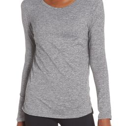 Zella Liana Long Sleeve Recycled Blend Performance T-Shirt | Nordstrom | Nordstrom