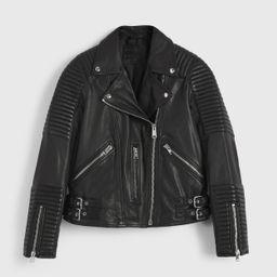 Estella Leather Biker Jacket | All Saints UK