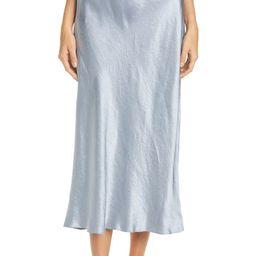 Side Slit Slip Midi Skirt | Nordstrom