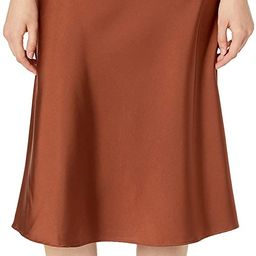 The Drop Women's Maya Silky Slip Skirt | Amazon (US)