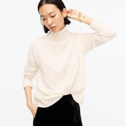 Relaxed-fit cashmere turtleneck sweater | J.Crew US