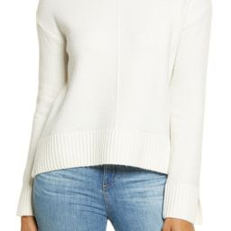 Raised Seam Turtleneck Sweater | Nordstrom