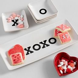 XOXO Heart Serveware Collection | Pottery Barn (US)