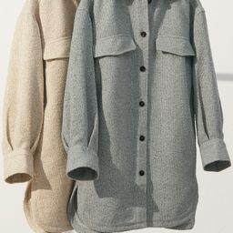 Long Shirt Jacket | H&M (US)