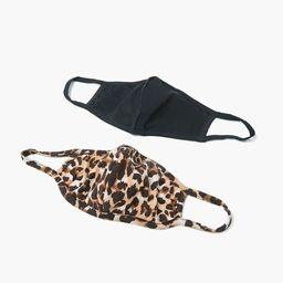 Leopard Print Face Mask Set | Forever 21 (US)