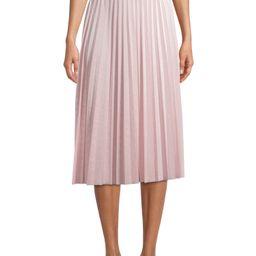 Time and Tru Women's Velvet Pleated Skirt   Walmart (US)