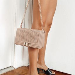 Let's Go Out Later Beige Braided Crossbody Bag   Lulus (US)
