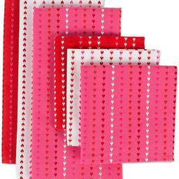 DII CAMZ10629 Dishcloth & Dishtowel Set (Set of 6), Assorted, Hearts Dobby Stripe | Amazon (US)