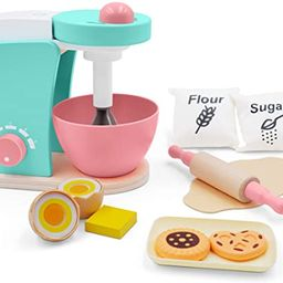 Wooden-Kitchen-Accessories-Toy-Mixer Bake Cookie Set(14 pcs)- Interactive Early Learning Toy, Exc...   Amazon (CA)