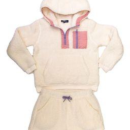 Kids' Fleece Hoodie & Shorts Set | Nordstrom