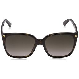 Gucci Dark Havana Square Sunglasses | Walmart (US)