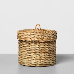 Woven Bath Storage Canister - Hearth & Hand™ with Magnolia | Target