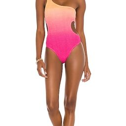 Bond Eye X BOUND The Milan One Piece in Pink,Peach.   Revolve Clothing (Global)