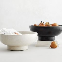 Orion Handcrafted Terra Cotta Bowls   Pottery Barn (US)