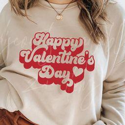Retro Valentines Day Sweatshirt / Valentines Day Sweatshirt / | Etsy | Etsy (US)