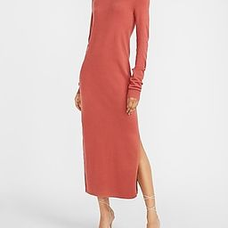 Turtleneck Maxi Sweater Dress | Express